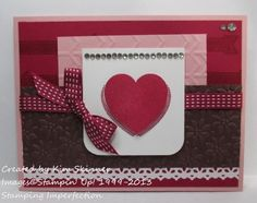 Stamping Imperfection: February is coming up hearts