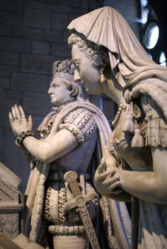 Louis XVI et Marie Antoinette, St Denis