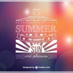 Summer vector background free for download Free Vector