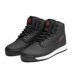 SUPRA BACKWOOD Shoe | BLACK - WHITE | Official SUPRA Footwear Site