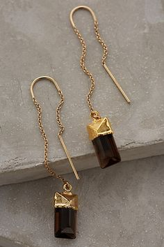 Quartz Sweeper Earrings #anthrofave