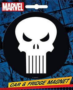 *** Final call for this special discount : Ata-Boy Marvel Comics Die-Cut Punisher Logo Giant Magnet at Christmas Home Decor .