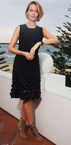 'I'm just super happy': Lara Worthington told Sonia Kruger on Mornings that her new life a...