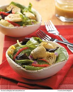 Italian Salad | Not sure about the dressing - anchovy paste?