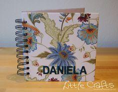 Personalized Notebook 6x6 Personalized Notebook, Books, Handmade, Crafts, Livros, Hand Made, Book, Livres, Crafting