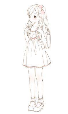 #loli #illustration - Sweet Hearts