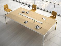 Mesa de reunión MORE 575 | Mesa de reunión by ESTEL GROUP