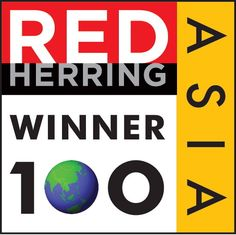 This is our first award of many more to come! We have been selected for #RedHerring Asia: Top 100! drcl.in/VY6bl