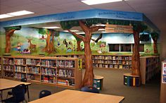 Jerry Allen Elementary Library  just a dream now...but hopefully one day a reality-Jessica