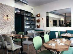 """""""Café Pinson"""" Paris designed by Dorothée Meilichizon"""