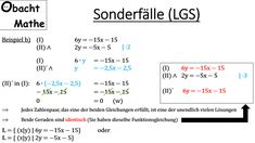 15 best Gleichungssysteme images on Pinterest | Systems of equations ...