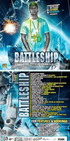 Artwork For Dyber ( @DyberVuitton ) #BattleShip Mixtape Hosted By @80MinAssassin Dj Stylez & @Thisis80Bda Revealed - #THISIS80