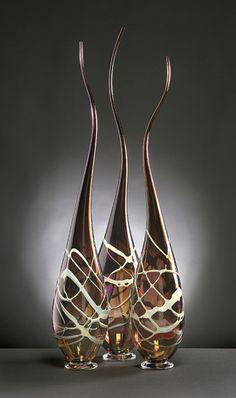 Serpenti: Victor Chiarizia: Art Glass Sculpture - Artful Home