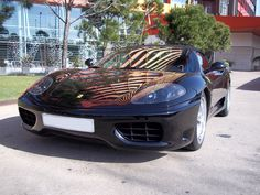 New Car Avalaible in Barcelona:  Ferrari F360 Spider. Colour: Black