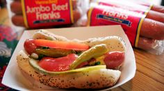 Palatine Restaurant Inducted Into Vienna Beef Hall Of Fame Chicago Hot Dog, Chicago Style, Meals For Four, Beef Hot Dogs, Hot Dog Stand, Hot Dog Recipes, Thin Crust Pizza, World Recipes, Good Food