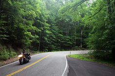 U.S. Route 129 - Deal's Gap-- aka, Tail of the Dragon.
