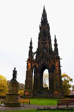 Scot Monument, Edinburgh Scotland.