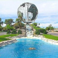 Leisure Worlds Famed Globe!
