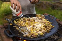 Outdoor Cooking, Wok, Bacon, Rice, Vegetables, Crafts, Gourmet, Crickets, Manualidades