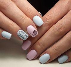 Kawaii Nail Art, Cat Nail Art, Cat Nails, Gel Designs, Cute Nail Designs, Fancy Nails, Pretty Nails, Skull Nails, Nail Art Videos