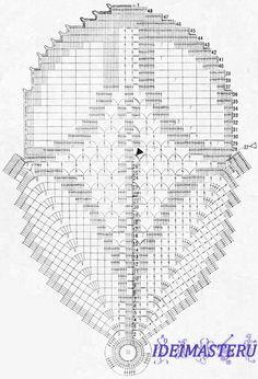 View album on Yandex. Crochet Tablecloth, Crochet Doilies, Doily Patterns, Crochet Patterns, Lace Tape, Bruges Lace, Fillet Crochet, Crochet Chart, Album