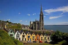 "irish cathedrals | St Colman's Cathedral, Cobh, County Cork, Ireland"" Picture art prints ..."