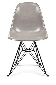 52 New Colors in 52 Weeks: Turtledove Fiberglass Shell Chairs