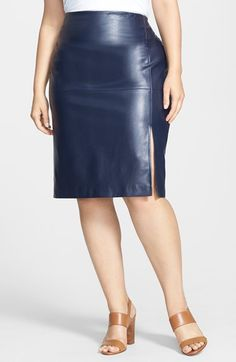 Faux Leather Pencil Skirt | Posh Shoppe | Fashion Inspirations ...