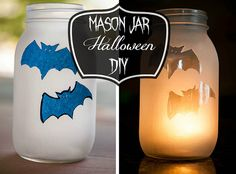 Halloween Mason Jar Light {DIY} - In The Know Mom