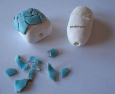 How to make covered hollow beads using internal forms.~ Polymer Clay Tutorials