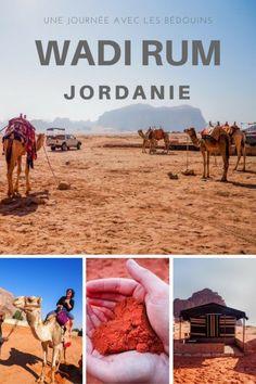 Une journée avec les Bédouins dans le désert du Wadi Rum en Jordanie.