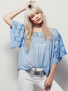 Free People Honey Child Tee, $78.00 get in my closet please.