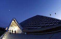 Pabellón-puente de la Expo de Zaragoza 2008. Obras de Zaha Hadid