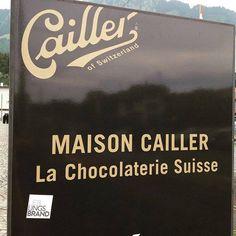 #lieblingsbrand #cailler #schoggi #switzerland #guerillamarketing