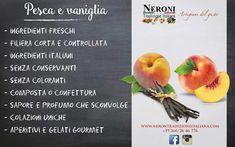 Pesca e vaniglia in extraconfettura o composta...#neronitradizioneitaliana #madeinitaly #ciboitaliano #sughipronti #pastafresca #foodporn #foodblogger