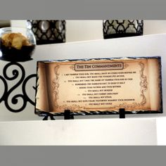 The Ten Commandments Christian decor. SOLID NATURAL HIGH QUALITY STONE A modern alternative to the classic decorative tiles and plates, these heavy-weight stone panels show off the picture in high-def. Dyes are directly infused into the stone, giving the images brightness and definition like you've never seen it before. This design won't fade over time or chip off so you can be sure this stone plaque will look great for a very long time. Unique Christian decor. Perfect Christian …