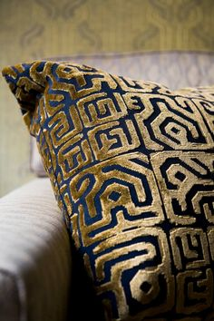 Fabrics F3111001 Cristobal | Pierre Frey Pierre Frey, Custom Carpet, Art Africain, Color Harmony, Art Deco Period, Vintage Chairs, African Art, Decoration, Charleston