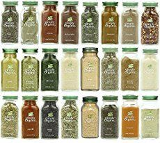 Simply Organic Gourmet Top 24 Spices Set The Simply Organic Gourmet Top 24 Spice Set includes the top organic culinary spices. And includes one bottle each of: Organic Garlic, Organic Turmeric, Spice Set, Spice Jars, Mccormick Spices, List Of Spices, Spices And Herbs, Mushroom Rice, All Purpose Seasoning