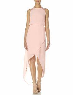 Lace Back Hi-Low Maxi Dress | Lace Maxi Dress | THE LIMITED