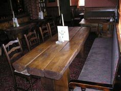 Railway Sleepers table and chairs
