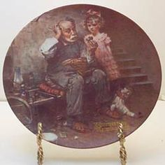 This is The Cobbler from the Heritage series by Knowles. Available now at www.rockwellplates.com Norman Rockwell, Cobbler, Decorative Plates, Display, Collection, Home Decor, Floor Space, Decoration Home, Billboard