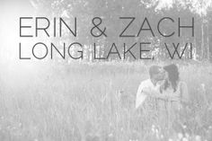 Erin & Zach are in Love :: Long Lake WI Engagement - Alison Kundratic Photography