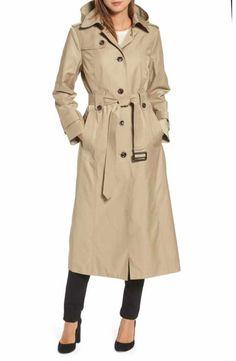 London Fog Long Trench Coat