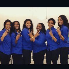 Mu chapter of SGRHO Spring  2015 @ Ball State University! Welcome New SGRHO PRETTY POODLES prance on!