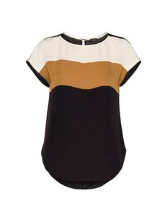 TB Stella Shell Blouse. love the stripes!