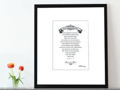 Christian art print The Lords Prayer 5x7 by LilStinkerDesign, $14.00