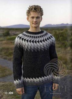 - Icelandic Jón (John) Mens Wool Sweater Black Heather - Tailor Made - Nordic Store Icelandic Wool Sweaters - 1 Thick Sweaters, Wool Sweaters, Mens White Shorts, Handgestrickte Pullover, Icelandic Sweaters, Knitting Designs, Fair Isle Knitting, Knit Crochet, Men Sweater