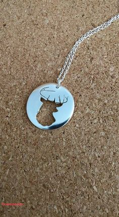 Stag Sterling Silver Stag Silver Jewellery Pierced by flowerpecker