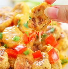 Tater tot nachos (aka Totchos) are made slightly healthier with the substituteof cauliflower tots. One of my newfavorite football game day foods is tater tot nachos which some people also refer to as totchos. I don't actually follow much football, but I like eating the snacks associated with watching the games. I wascravingtotchos the other …