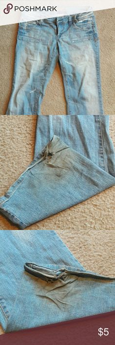 Hydraulic Jeans Not brand spanking new, obviously.  Easy to fix, just have them hemmed! Hydraulic Jeans Flare & Wide Leg